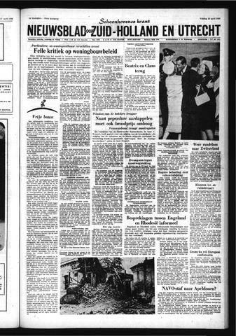 Schoonhovensche Courant 1966-04-29