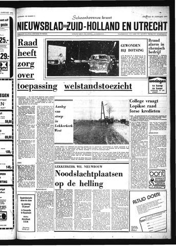 Schoonhovensche Courant 1975-01-24