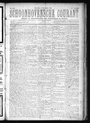 Schoonhovensche Courant 1921-12-12