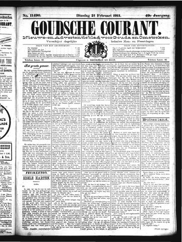 Goudsche Courant 1911-02-21