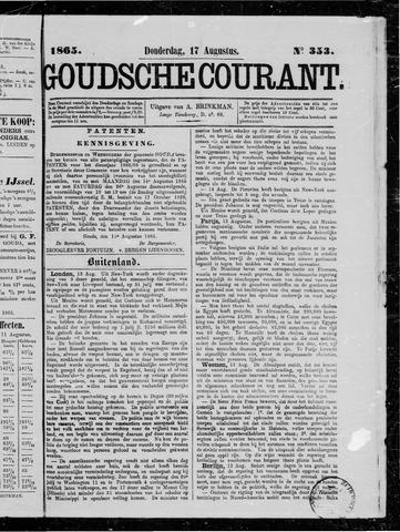 Goudsche Courant 1865-08-17