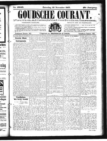 Goudsche Courant 1917-11-10