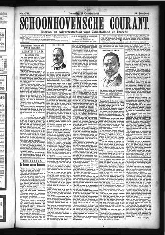 Schoonhovensche Courant 1923-10-29