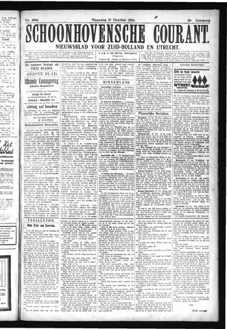 Schoonhovensche Courant 1924-10-27