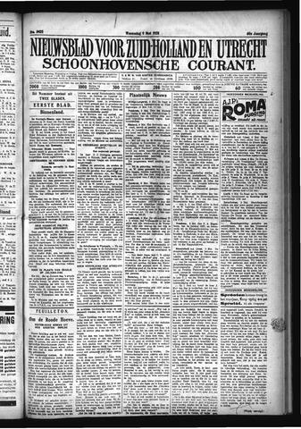 Schoonhovensche Courant 1928-05-09