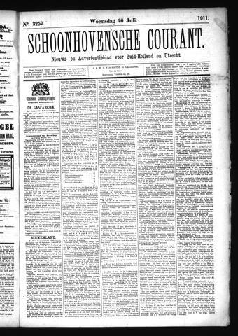 Schoonhovensche Courant 1911-07-26