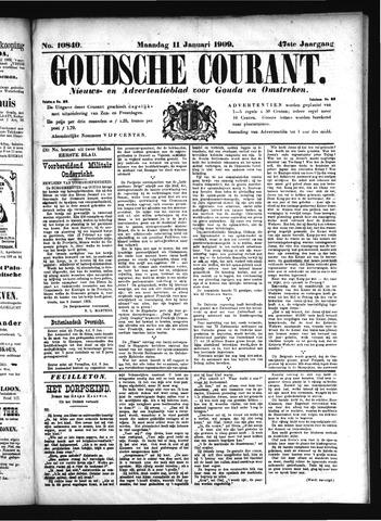 Goudsche Courant 1909-01-11