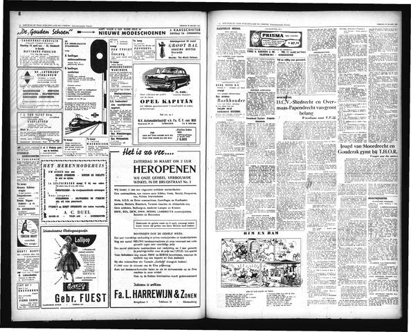 Schoonhovensche Courant 1957-03-29