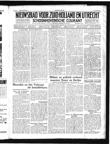 Schoonhovensche Courant 1939-05-08