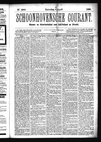 Schoonhovensche Courant 1899-04-08