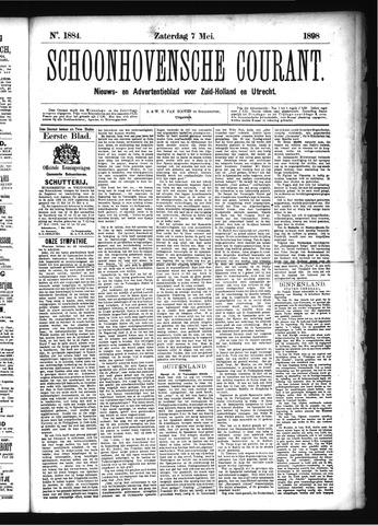 Schoonhovensche Courant 1898-05-07
