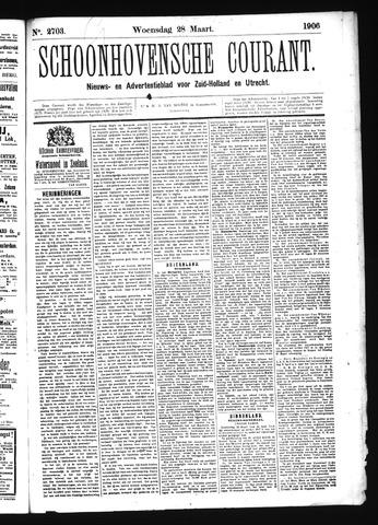 Schoonhovensche Courant 1906-03-28