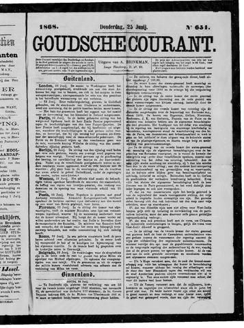Goudsche Courant 1868-06-25