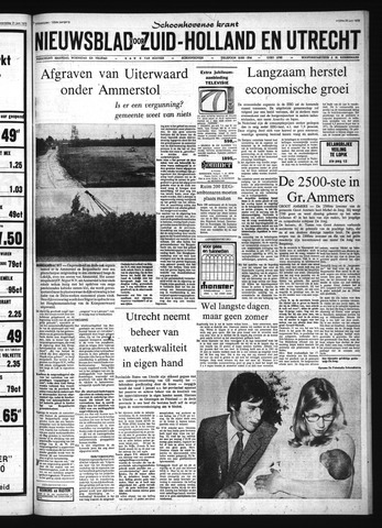 Schoonhovensche Courant 1972-06-23
