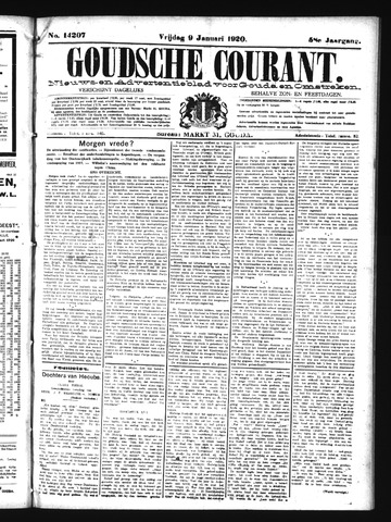 Goudsche Courant 1920-01-09