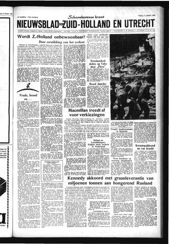 Schoonhovensche Courant 1963-10-11