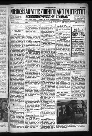 Schoonhovensche Courant 1932-01-06