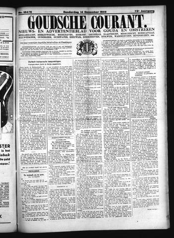 Goudsche Courant 1933-12-14