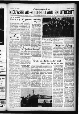 Schoonhovensche Courant 1961-06-07