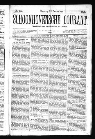 Schoonhovensche Courant 1878-12-22