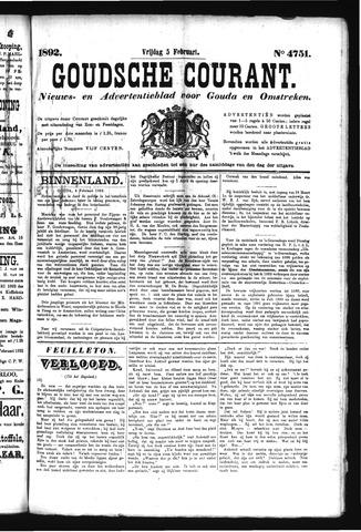 Goudsche Courant 1892-02-05