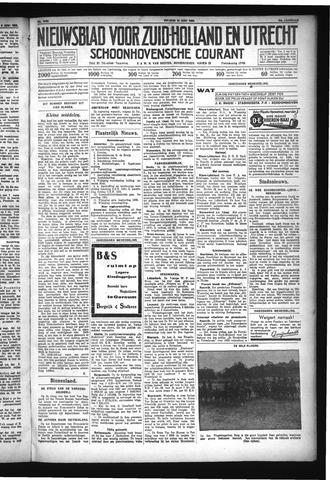Schoonhovensche Courant 1932-06-10