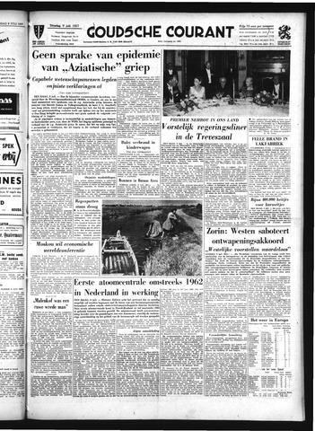 Goudsche Courant 1957-07-09