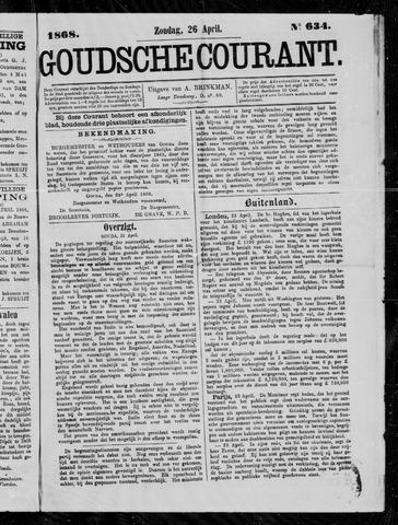 Goudsche Courant 1868-04-26