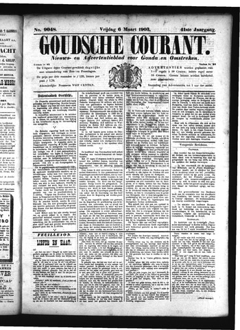 Goudsche Courant 1903-03-06