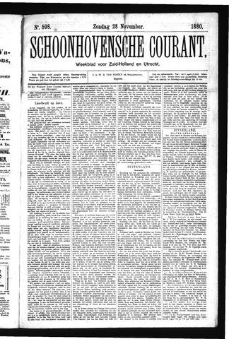 Schoonhovensche Courant 1880-11-28
