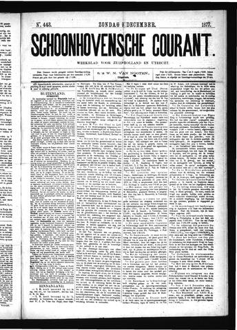Schoonhovensche Courant 1877-12-09