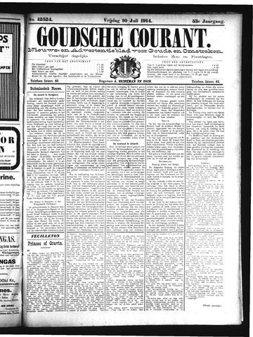 Goudsche Courant 1914-07-10