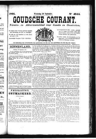 Goudsche Courant 1891-09-30