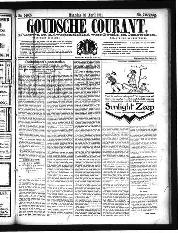 Goudsche Courant 1921-04-25