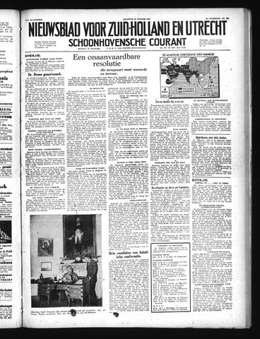 Schoonhovensche Courant 1949-01-24
