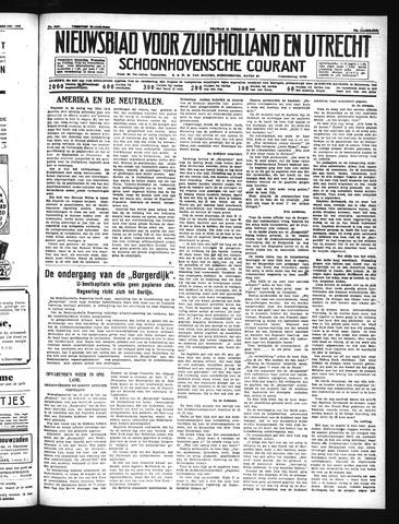 Schoonhovensche Courant 1940-02-16