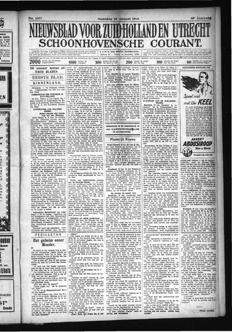 Schoonhovensche Courant 1928-01-16