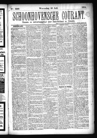 Schoonhovensche Courant 1914-07-22
