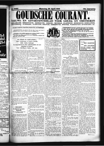 Goudsche Courant 1936-04-20