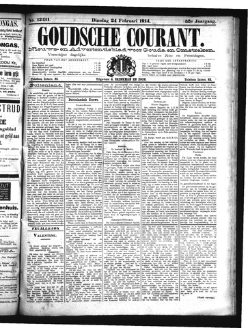 Goudsche Courant 1914-02-24