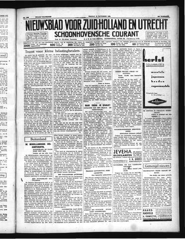 Schoonhovensche Courant 1937-09-10