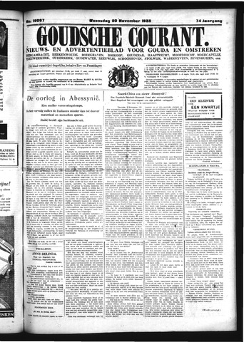 Goudsche Courant 1935-11-20