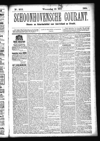 Schoonhovensche Courant 1904-05-25