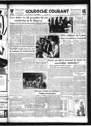 Goudsche Courant 1956-07-09