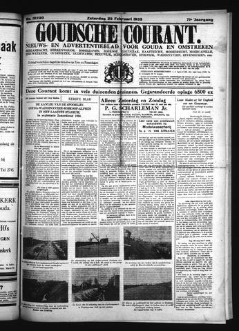 Goudsche Courant 1933-02-25