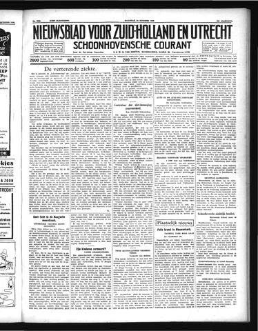 Schoonhovensche Courant 1938-10-24