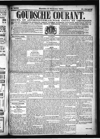 Goudsche Courant 1922-11-27