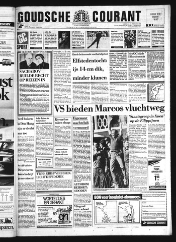 Goudsche Courant 1986-02-24