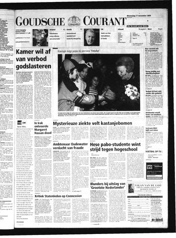 Goudsche Courant 2004-11-17