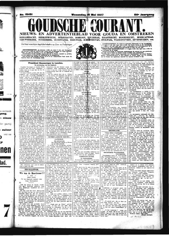 Goudsche Courant 1927-05-18